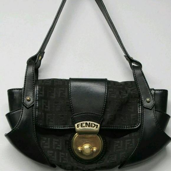 ca57da0d4d7 Fendi Bags   Borsa Tuc Bag Zucchino Ff Monogram Hobo   Poshmark
